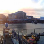 Sunset, from L'Aqua Darling Harbour